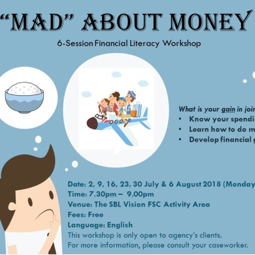 "Upcoming group work: ""MAD"" About Money"